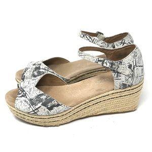 Toms Wedge Espadrilles Sandals